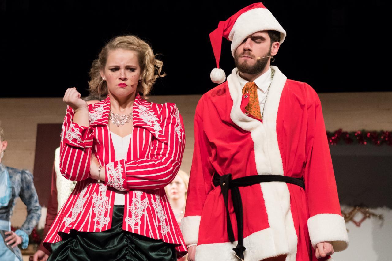 Le Père Noël a perdu la boule!